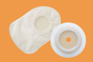 Medical One- Piece and Two-Piece Disposable Colostomy Bags Ostomy Bags