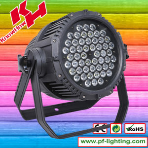 54*3W RGBW IP65 Waterproof LED PAR Light pictures & photos