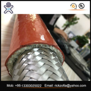 Fire Resistant Fiberglass Sleeve for Hdraulic Hose pictures & photos