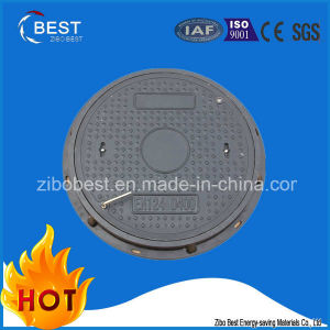 OEM D400 Circular SMC Composite Sewer Manhole Cover pictures & photos