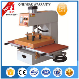 Double Position Semi-Automatic Heat Transfer Machine for T-Shirt pictures & photos