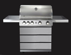 2, 3 and 4 Burners Barbecue Special Stainless Steel Drawer