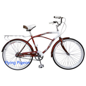 Aluminum Pedal Man Beach Cruiser Bicycle (FP-BCB-C015) pictures & photos