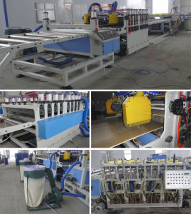 Plastic WPC Foam Board Extrusion Making Machine pictures & photos