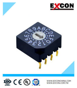 Rotary Cam Switch Excon RS40014 DIP Rotary Switch