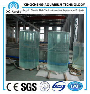 Large Transparent Cylindrical Tank pictures & photos