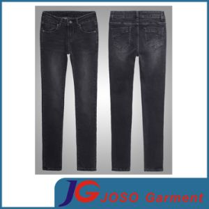 Chinese Factory Basic Women Denim Jeans Pants (JC1288) pictures & photos