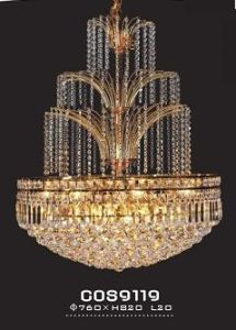 Hotel Modern Decorative Crystal Chandelier (cos9119) pictures & photos