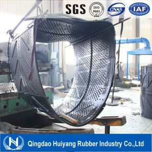 Chain Shot Blast Machine Rubber Belts for Cement Industry