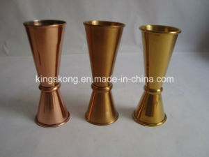 Gold Plated Cocktail Jigger Is Very Popular in EU pictures & photos