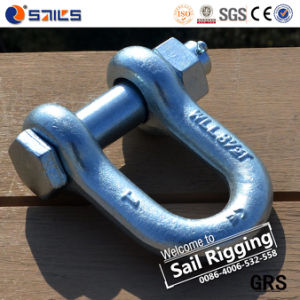 Rigging Drop Forged Galvanized Us Type Shackle pictures & photos