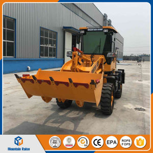 High Quality Articulated Mini Front Wheel Loader pictures & photos