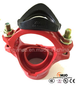 High Standard Cast/Ductile Iron Grooved / Threaded Mechanical Tee -FM/UL Listed pictures & photos