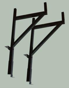 Steel Pick up Side Adjustable Truck Ladder Racks pictures & photos