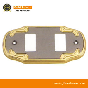 Modern Style Zinc Alloy Switch Power Cover for Decoration/ Furniture Hardware (163-3 GP/SN) pictures & photos