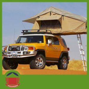 Desert Camping Soft Roof Top Tent with Ladder pictures & photos