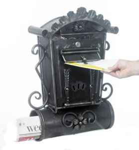 Steel Retro Mail Box