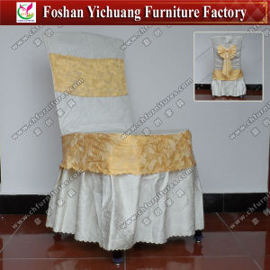 Jacquard Chair Cover for Hotel Furniture (YC-850-2) pictures & photos