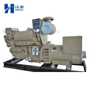 Cummins diesel generator set with KTA19-DM marine auxiliary engine marathon alternator pictures & photos