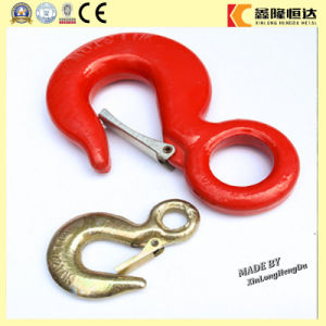 China Hardware 3/8′′ Stainless Steel 316 Spring Cargo Hook pictures & photos