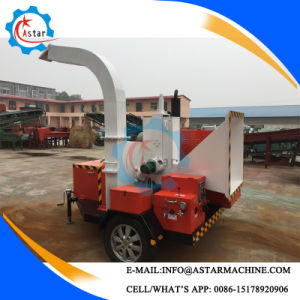 Mobile Type Fresh Tree Branch Garden Waste Crusher Machine pictures & photos