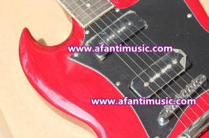 Mahogany Body & Neck / Sg Style Afanti Electric Guitar (ASG-547) pictures & photos
