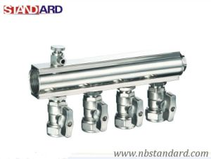 Brass Manifold Valve for Heating pictures & photos