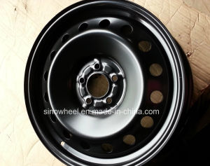 18X6.5 High Quality Winter Steel Wheel pictures & photos