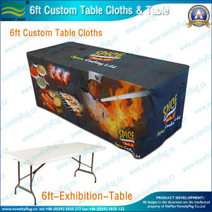 6ft Decorative Table Cloth (B-NF18F05018) pictures & photos