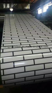 Ceramic Tile Style PPGI Prepainted Print Coating Sheet pictures & photos