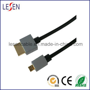 HDMI Cable, A Male to Micro Male, 1080P pictures & photos