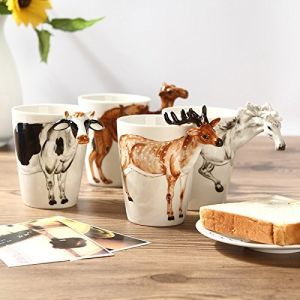 Cheap Ceramic Coffee Mug Ceramic Milk Cup Handmade Creative Art pictures & photos