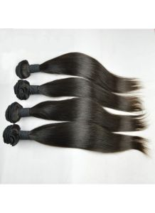100% Human Hair Extensions Hair Weft Silk Straight pictures & photos