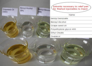Raw Materials Organic Solvents Grape Seed Oil CAS: 85594-37-2 pictures & photos
