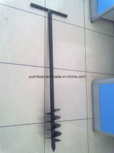 High Quality Mannual Earth Auger, Hole Drilling Earth Auger, Ground Auger pictures & photos