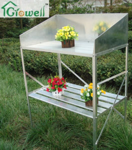 Greenhouse Aluminium Staging with Shield (S323BS) pictures & photos