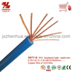 H07V-R PVC Insulated Conductor Multi Copper Wire 16mm2 25mm2 pictures & photos