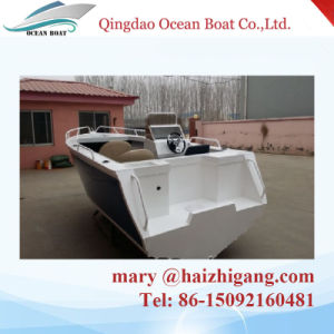 5.0m 17FT Side Console Aluminum Hull Boat Fishing Yacht with Ce Approved pictures & photos