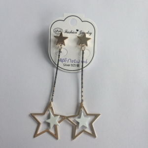 Long Earrings with Star Pendant Fashion Jewelry Silver Earrings pictures & photos