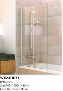 Top Shower Panel on Bath Tub Wtm-03D73 pictures & photos