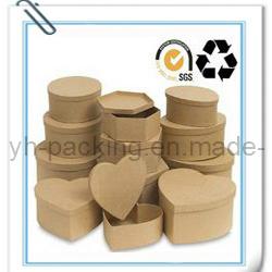 Environmental Natural Jewelry Kraft Paper Box (No. 028)