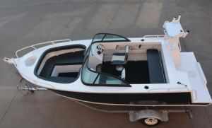 Hot Sale 17FT Bowrider High Quality Fiberglass Fishing Boat pictures & photos