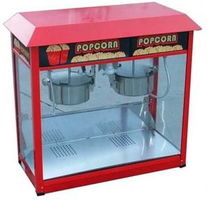 Double Bowl Commercial Large Popcorn Machine pictures & photos