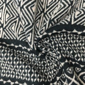 Jacquard P/Sp 97/3, 200GSM, Knitting Garment Fabric with Ethinc Pattern pictures & photos
