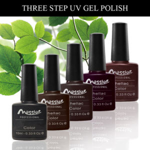 Long Lasting Three Stpe 10ml 128 Kinds Colors Nail UV Gel Polish pictures & photos