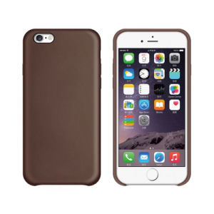 Custimized Logo PU/Leather Mobile Phone Cases for iPhone 7/7 Plus