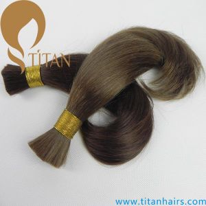 4# Natural Wave 100% Virgin Remy Human Hair Bulk