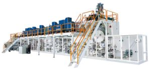The Adult Diaper Machine Production Line