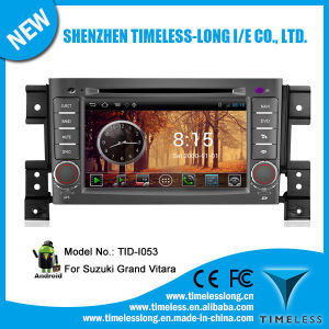 Android System Car GPS Navigation for Suzuki Vitara 2008 with GPS iPod DVR Digital TV Box Bt Radio 3G/WiFi (TID-I053)
