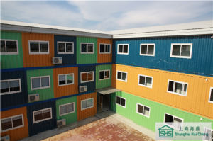 Prefab Container House/Offshore Accommodation Container (shs-mh-accommodation007) pictures & photos